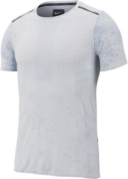 Nike ShorSleeve Running hombre Blanco