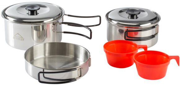 Cooking Set Stainless Steel 2Pers Set Montaña