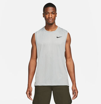 Nike Camiseta Sin Mangas Pro Dri-Fit hombre Gris