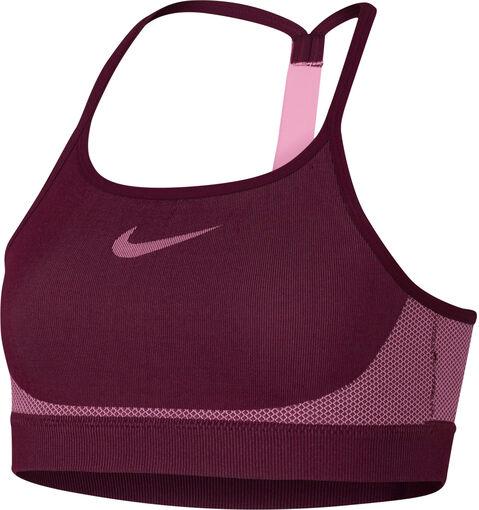 Nike - Sports Bra Seamless - Niña - Sujetadores deportivos - Rojo - XS