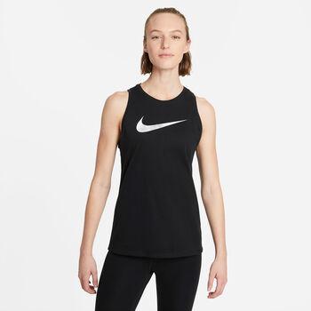 Nike Camiseta Sin Mangas Dri-Fit Icon Clash mujer Negro
