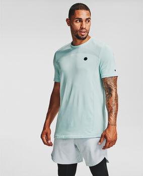 Under Armour Camiseta de manga corta UA RUSH™ Seamless Fitted hombre Azul