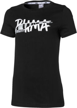 Puma Camiseta m/c Alpha Logo Tee G niña