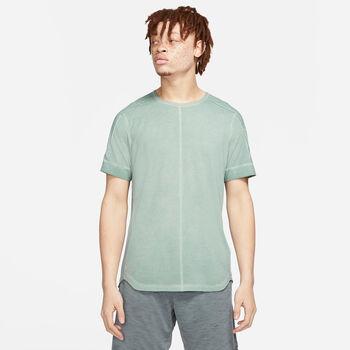 Nike Camiseta Manga Corta Nomad hombre Verde