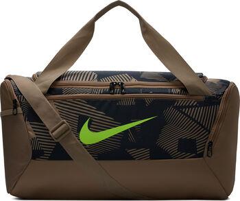 Nike Bolsa Brasilia Duffel 9.0 AOP Marrón