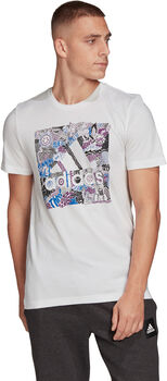adidas Camiseta Manga Corta Doodle Badge Of Sport hombre