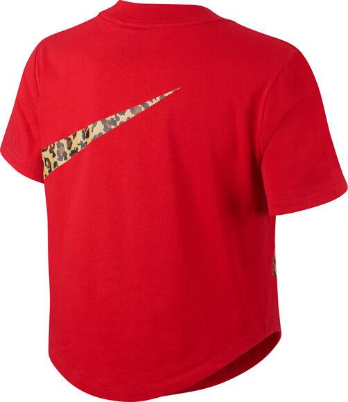 Camiseta manga corta Crop Top Sportswear