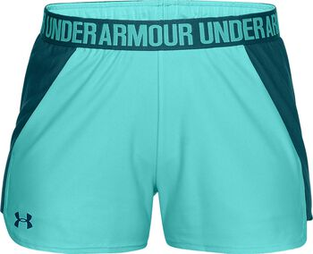 Under Armour Play Up Short 2.0 Mujer Azul