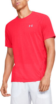 Under Armour Camiseta de manga corta Streaker 2.0 Shift hombre Rojo