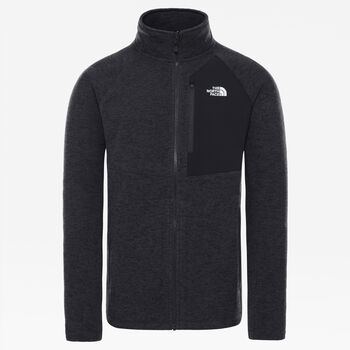 The North Face Sudadera Arashi Overlay Fleece II hombre Negro