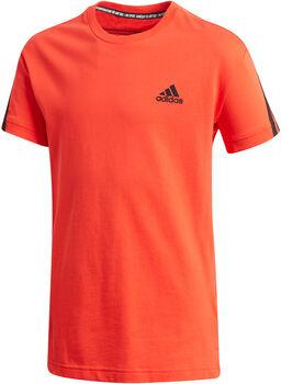 adidas Camiseta Cotton 3 bandas niño