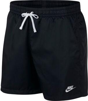 Nike Pantalones cortos tejidos Sportswear Heritage hombre Negro