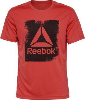 Reebok Actron Tech Tee Hombre Rojo