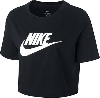 Nike Camiseta Manga Corta Essential mujer Negro