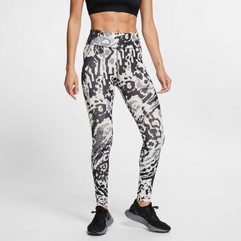 Nike Malla FAST 7_8 mujer Negro