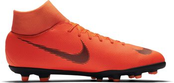 Botas fútbol Nike Mercurial Superfly 6 CLUB MG Naranja