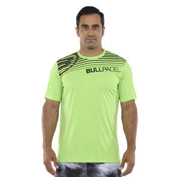 Bullpadel Camiseta Manga Corta Choco hombre