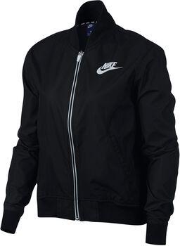 Nike Sportwear Advance 15 Jkt Wvn Mujer Negro