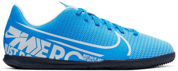 Nike Bota JR VAPOR 13 CLUB IC niño Azul