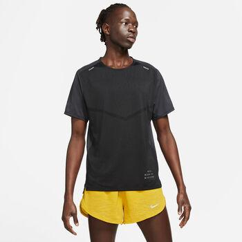 Nike Camiseta Manga Corta Rise 365 Division hombre Negro