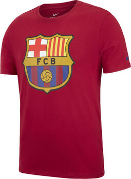 Camiseta fútbol FC Barcelona Nike TEE EVERGREEN CREST hombre