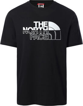 The North Face Camiseta manga corta Campay hombre Negro