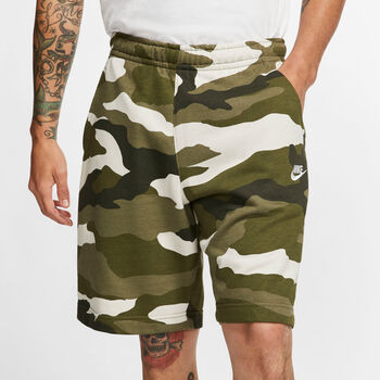 Nike SHORT NSW CLUB FT CAMO hombre