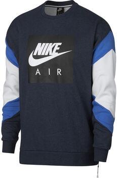 Nike Sportswear Air Crew Flc hombre Azul
