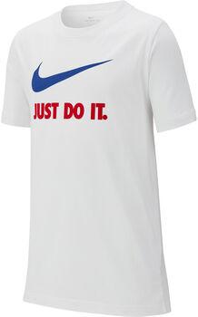 Nike Camiseta m/c B NSW TEE JDI SWOOSH Blanco