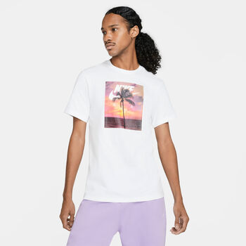 Nike Camiseta manga corta Sportswear Palmeras hombre Blanco