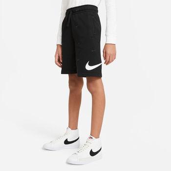 Nike Pantalón corto Sportswear Swoosh Negro