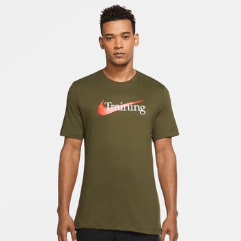 Nike Camiseta Manga Corta Dri-Fit Swoosh hombre