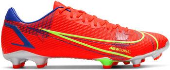 Botas de fútbol Nike Mercurial Vapor 14 Academy FG hombre Rojo