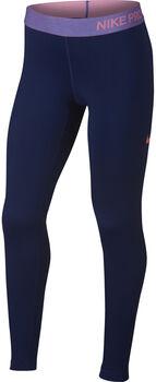 Nike Pro Warm niña Azul
