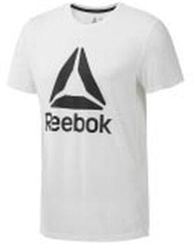 Reebok Workout Ready Supremium 2.0 Tee Big Logo Hombre Blanco