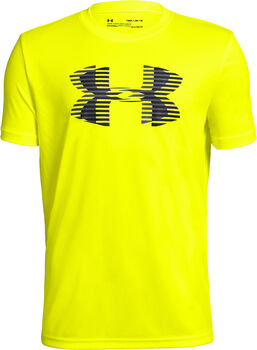 Under Armour Camiseta m/c Tech Big Logo Solid Tee niño Amarillo