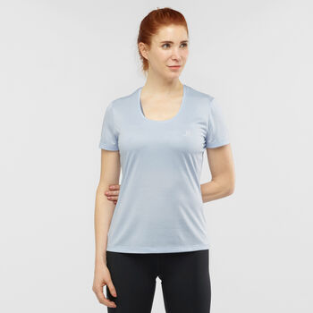 Salomon Camiseta de wanga corta AgileSS mujer