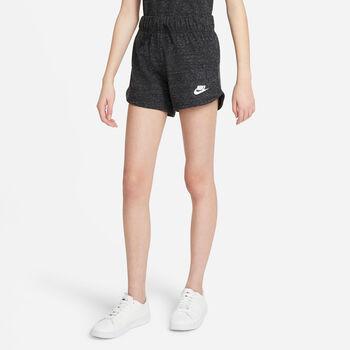 Nike Pantalón corto Sportswear Big Kids Negro