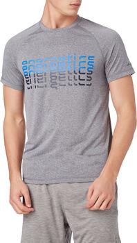 ENERGETICS Camiseta Manga Corta Massimo III hombre Gris