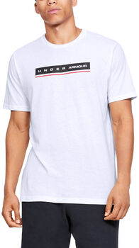 Under Armour Camiseta de manga corta UA Reflection para hombre Blanco