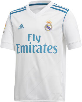 Camiseta fútbol Real Madrid adidas temporada 2017-2018 H JSY LFP Junior niño
