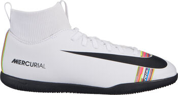 Nike Botas de fútbol sala CR7 Jr. SuperflyX 6 Club IC Blanco