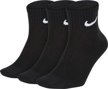 Nike Calcetín Everyday Lightweight Ankl Negro