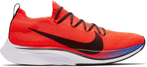 Nike - Zapatillas Vaporfly 4% Flyknit - Hombre - Zapatillas Running - Rojo - 9