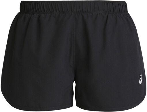 Asics - Pantalones cortos plateados recortados
