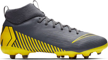 Botas fútbol Nike Mercurial JR Superfly 6 Academy GS MG  Negro