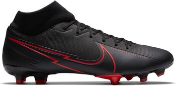 Nike Bota SUPERFLY 7 ACADEMY FG/MG hombre Negro