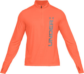 Under Armour Camiseta con cremallera de ¼ UA Speed Stride Split para hombre