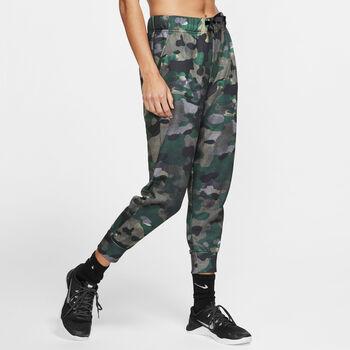 Nike Pantalones Dri-FIT Rebel  Fleece 7/8 mujer