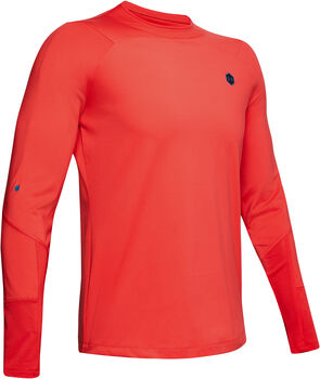 Under Armour Camiseta CG Rush Mock RED hombre Rojo